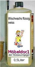 Wisch Wachs Wasserfest flüssig 1 Ltr weiss Shabby Look Oberflächen Behandlung