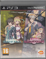 Tales of Xillia 1 & 2 Collection PS3 Brand New Factory Sealed Fast Shipping