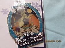 Walt Disney World 2010 LADY AND THE TRAMP Christmas Ornament