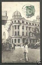 Singapore Chartered Bank of India Australia China stamp 1910