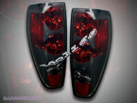 04-10 Chevy Colorado / Gmc Canyon Smoke Style Pair Tail Lights