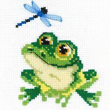 RIOLIS  HB159  Petite grenouille  Kit  Broderie  Point de croix  Facile