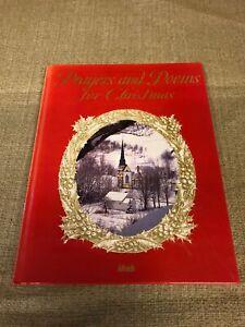 IDEALS-Prayers-and-Poems-for-Christmas-by-Nancy-J-Skarmeas-Editor-1995