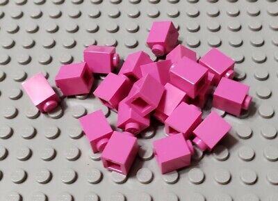 New LEGO Lot of 4 Translucent Dark Pink 1x1 Round Plates Creator Girls Friends