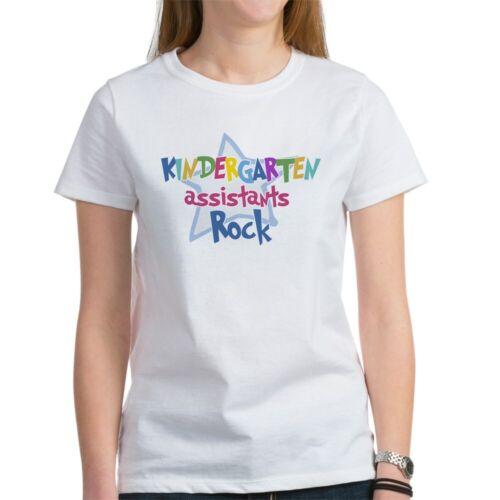 1377207163 CafePress Kindergaten Assisstants Rock Women/'s T-Shirt
