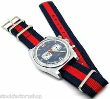 Cool! Vintage Swiss Made CIMIER Chronograph Manual Wind Men's Watch- Working
