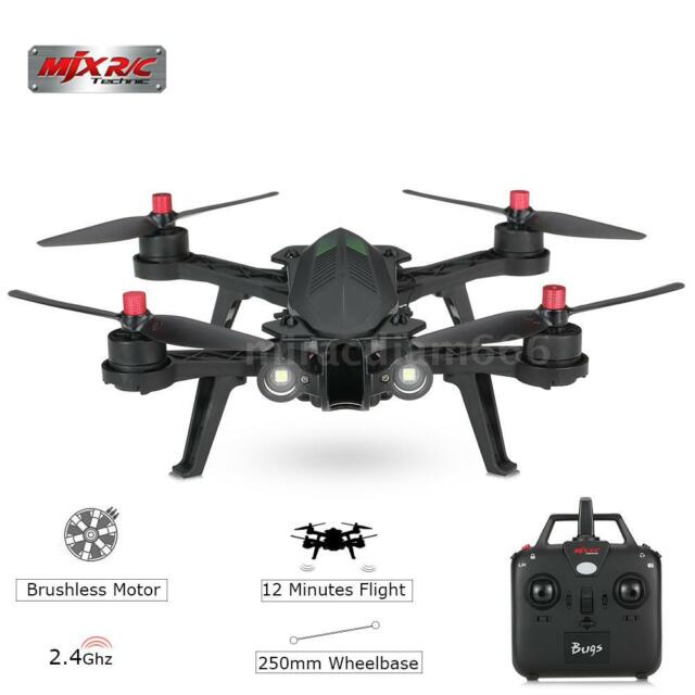mjx bugs 6 racing  MJX B6 Bugs 6 Drone RC Quadcopter RTF 2.4g Brushless 4ch Racing ...