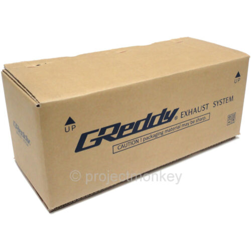 "Greddy Revolution RS Universal Exhaust Muffler Polished 76mm 3/"" Inlet JDM"