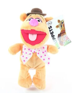 THE-MUPPETS-SHOW-flopsies-FOZZY-BEAR-8-034-plush-soft-toy-Jim-Henson-Disney-NEW