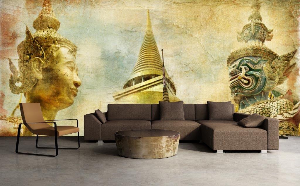 3D Thailand Statue 77 Tapete Wandgemälde Tapete Tapeten Bild Familie DE Summer | Spielen Sie auf der ganzen Welt und verhindern Sie, dass Ihre Kinder einsam sind  | Verwendet in der Haltbarkeit  | Adoptieren