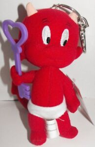 Hot-Stuff-Plush-Keychain-with-Purple-Key-Stuffed-Animal-Toy-Key-Chain