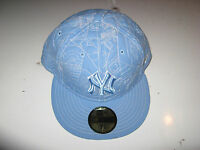 Era 59fifty Fitted York Yankees Hat Blue 7 5/8