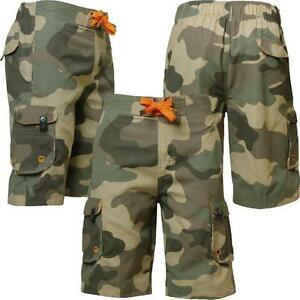 Mens-Sth-Shore-MS-28126-new-camouflage-army-cargo-combat-shorts-size-S-L