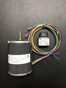 Details about GSI / Emerson K37HXBHM-556 Fan Motor 1/6 HP 3300 RPM 208-230  V 1 Ph 5/16