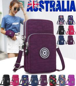 AU-Cross-body-Mobile-Phone-Shoulder-Bag-Pouch-Case-Belt-Handbag-Purse-Wallet-New