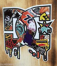 """Stickerbomb Aufkleber OEM/JDM """"DC"""" Skater & Motocross Sticker DUB Drift Troy US"""