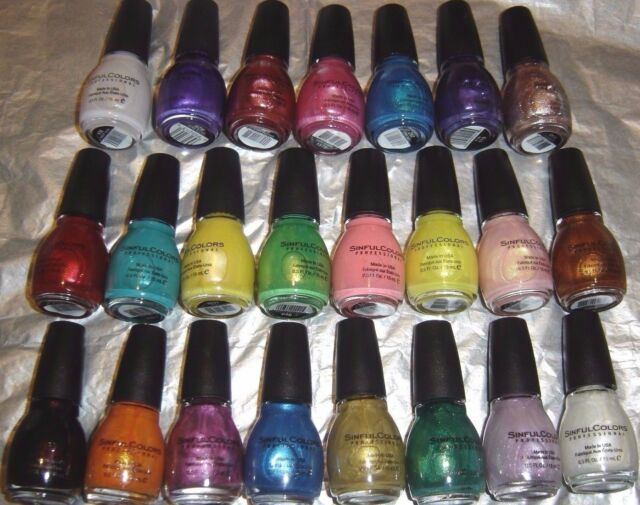 Sinful Colors Professional Nail Polish Enamel 1106 Cinderella | eBay
