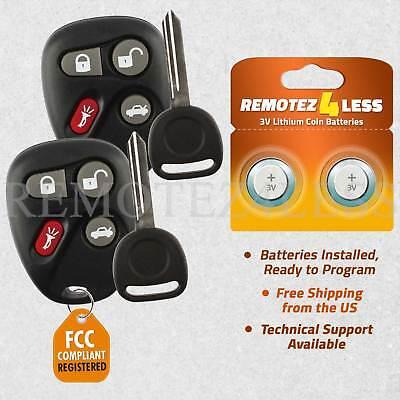 Keyless Entry Remote for 2001 2002 2003 2004 2005 Pontiac Grand Am Car Key Blue