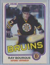 1981-82 O-Pee-Chee #1 Ray Bourque Boston Bruins EX++