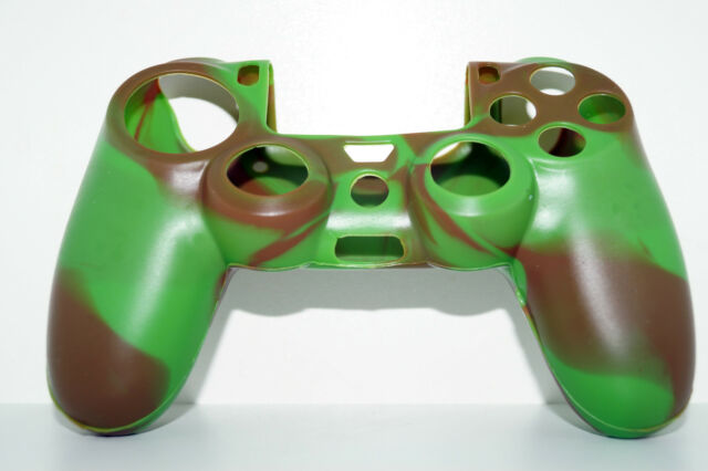 Green #2 PlayStation 4 PS4 Silicone Controller Joypad Protective Case Cover