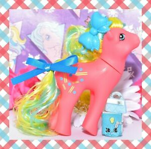 My-Little-Pony-MLP-Vtg-G1-Style-HQG1C-Pretty-Mane-Artistry-Girls-Rhythm