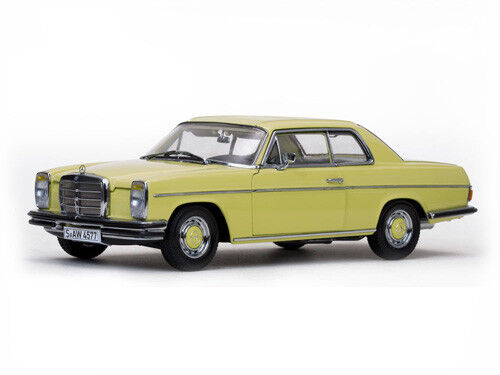 Mercedes Strich 8 Coupe' 1968 Pastel Yellow 1 18 Model 4577 SUN STAR