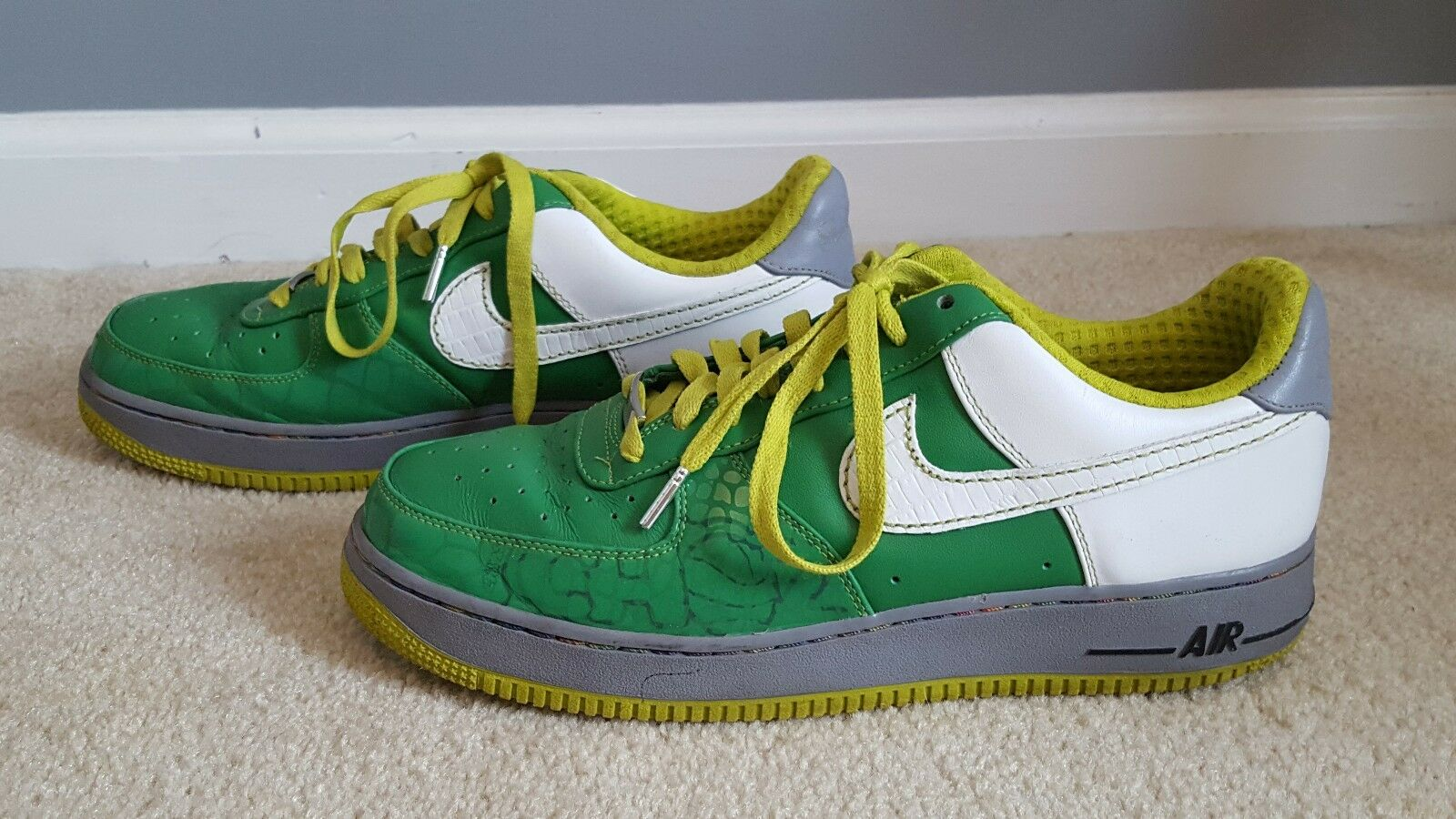 Rare 2007 Nike Air Force XXV Choz South Bronx Green Men's Comfortable Special limited time