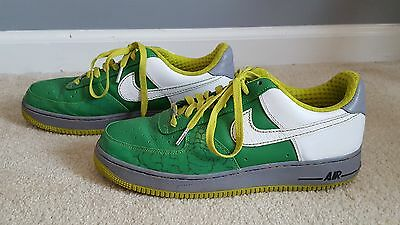 2007 nike air force ones men green blue