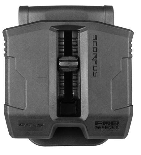 PS-9S FAB Defense Double Magazine Pouch with Swivel for BROWNING HI-POWER / BDM