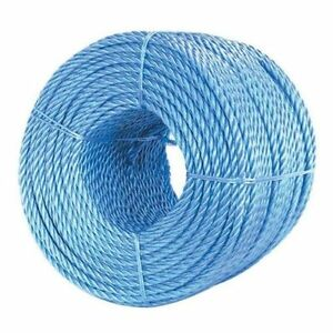 220m-x-5mm-BLUE-POLYPROPYLENE-ROPE-TRADESMAN-MULTI-PURPOSE-TWISTED
