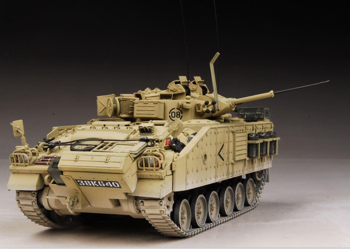 Award Winner Built 1 35 British Warrior Infantry Fighting Vehicle +Detail+ACC
