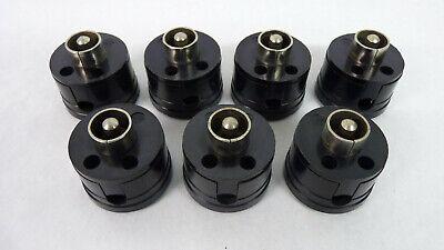 1 Von 7 Stück Alte Bakelit Telefonstecker Für Telefonanlage - Unbenutzt. Zustand QualitäTswaren