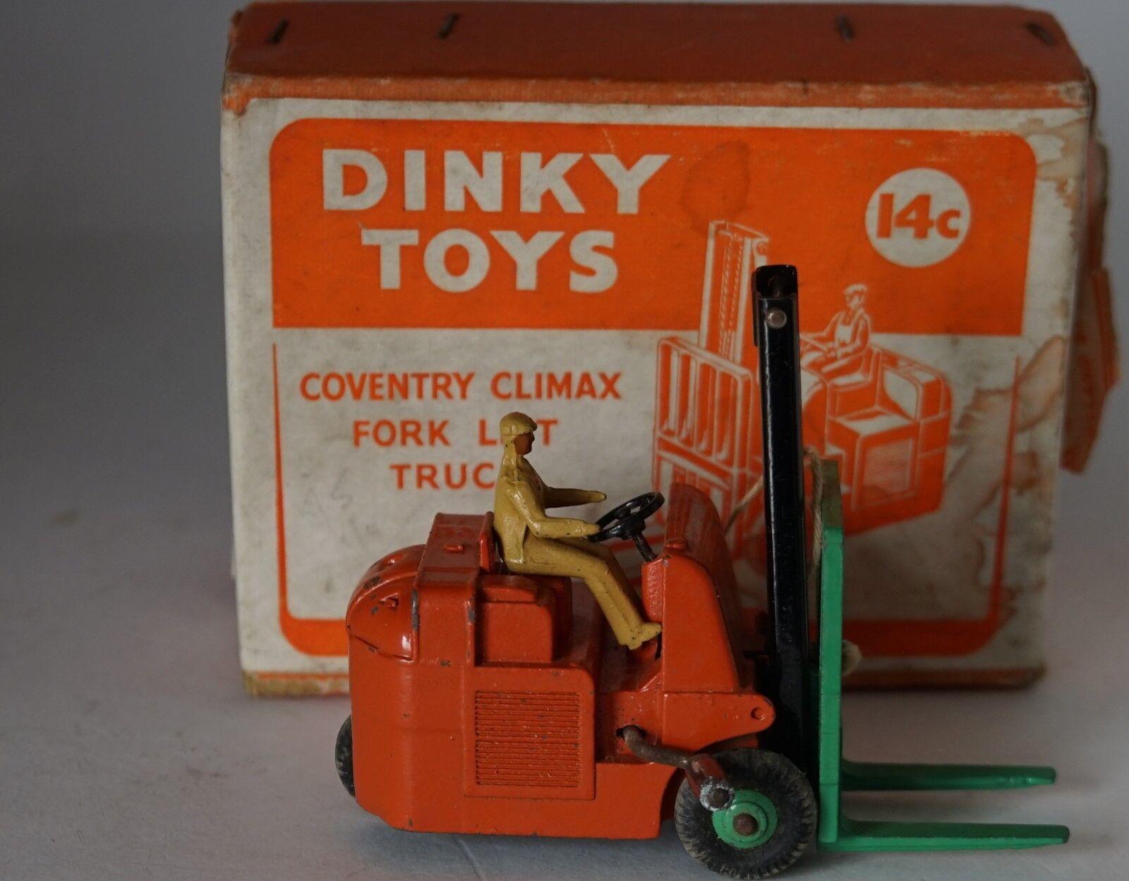 ventas calientes Dinky 14c Coventry Climax Cocheretilla elevadora en en en caja y embalaje interior  tienda de ventas outlet