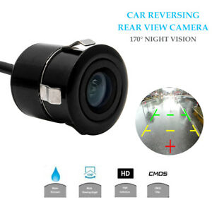 NEW-170-Waterproof-Wide-Monitor-Car-Reverse-Camera-Rear-View-Parking-LED-Sensor