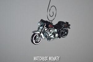 Harley Davidson Fat Boy Motorcycle Custom Christmas Ornament Sportster V Rod Ebay