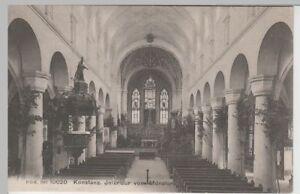 Offizielle Website Ak Konstanz Münster Inneres 66558 Schweizer Karte Vor 1945
