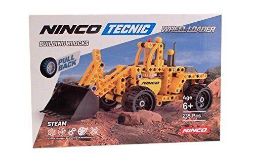 Ninco bist NT10051 Schaufel Bagger 235 Stk Retro Reibung,Motor Ladung Manuell