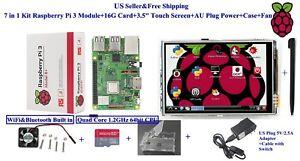 7-in-1-Kit-Raspberry-Pi-3B-Module-amp-16G-Card-amp-3-5-034-Touch-Screen-amp-US-Power-amp-Case