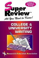 College & University Writing Super Review The Staff of Research & Education Ass