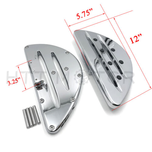 Davidson 198 DEEP CUTTING REAR PASSENGER STRETCHED FLOOR BOARDS FOR Most Harley