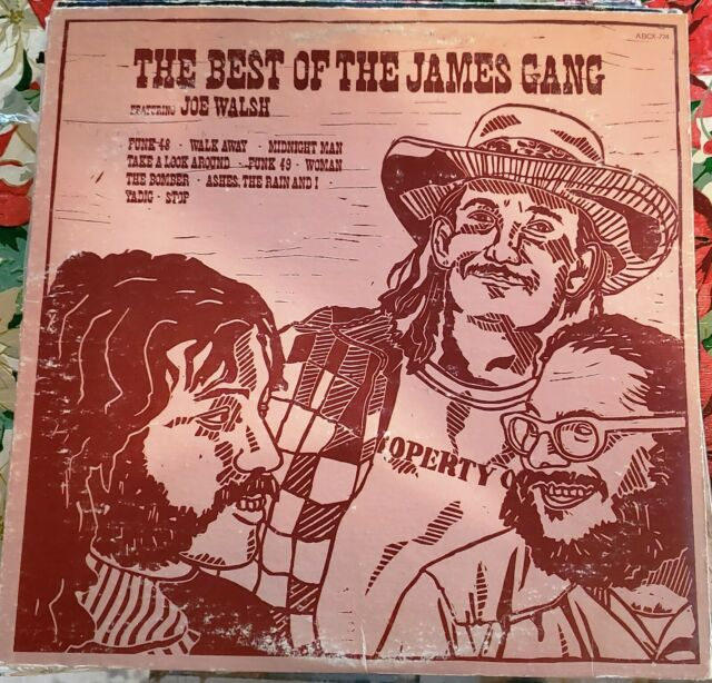 """""""Classic Rock"""" """"The Best Of The James Gang"""" """"Funk-48"""