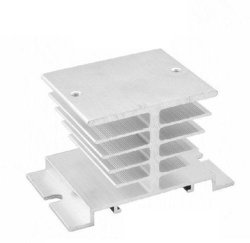 5 de aluminio del disipador de calor para Solid State Relay Ssr disipación de calor 10a-40a