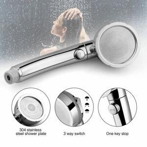 High-Turbo-Pressure-Shower-Head-3-Mode-Filtered-Ionic-Stone-Stream-Water-Saving