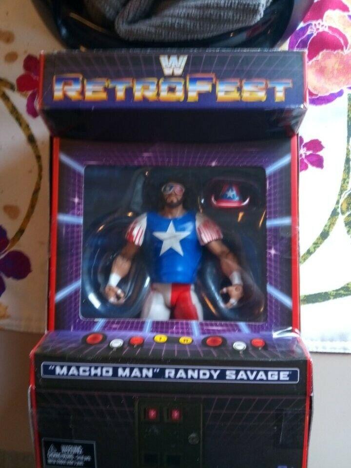 Macho Man Randy Savage - RetroFest RetroFest RetroFest Gamestop Exclusive WWE Mattel Elite NEW 879e02
