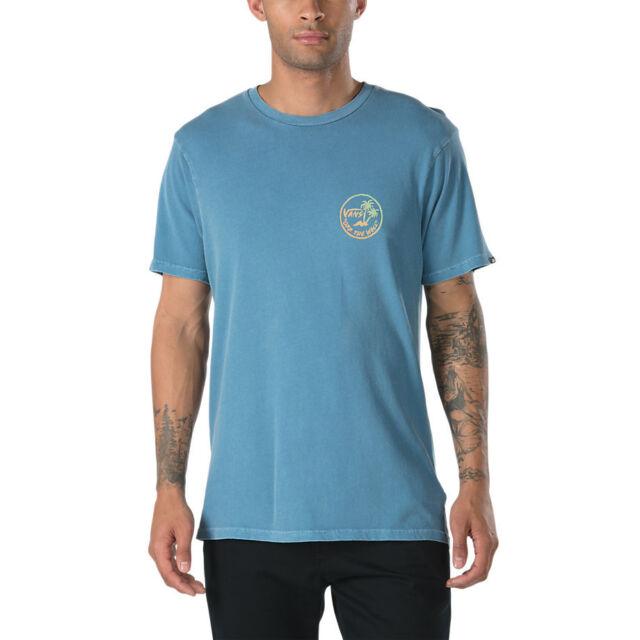 e5b05d1b608695 VANS off The Wall (mini Dual Palm) Copen Blue Tee T Shirt Sz Mens ...
