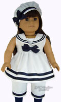 Spring Sailor Outfit For 18 American Girl Doll Clothes Quality