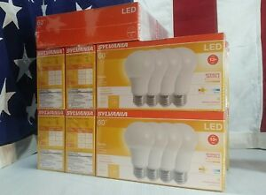 Details About Dimmable Led 60w Equiv Soft White Bright White Daylight Sylvania Light Bulbs