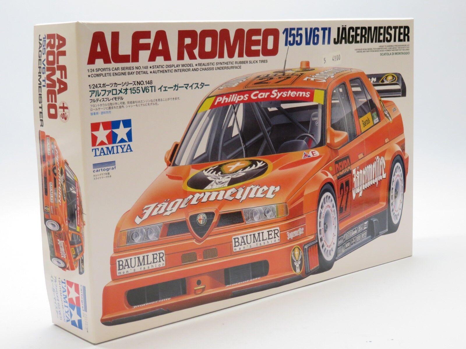 Tamiya 24148 1 24 Maquette Alfa Roméo 155 V6 TI Jägermeister