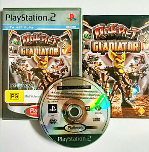 Mint-Disc-Playstation-2-Ps2-Ratchet-Gladiator-Ratchet-amp-Clank-and-Free-Postage
