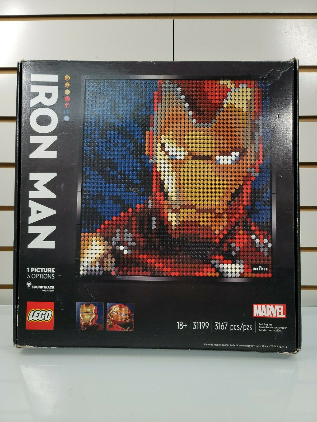 LEGO Marvel Studios Iron Man ART (31199) NOB SEE DESCRIPTION!!! on eBay thumbnail